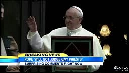 Pope Francis Comments on Gay Priests, Homosexuality