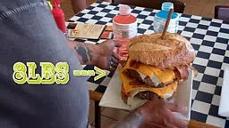 #18 DOUBLE GLUTTON BURGER CHALLENGE
