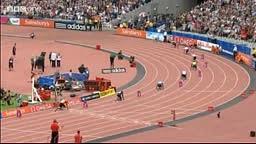 Usain Bolt Blazing Anchor leg Racers Track Club wins 4x100m