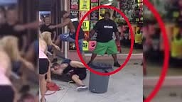 Man beaten by bouncer in bar fight caught on camera