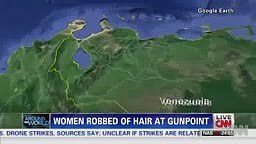 Women robbed of hair at gunpoint