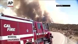 Fire Burns Nine Sq. Miles in Southern California