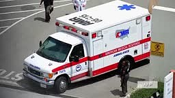 Man steals ambulance in front of police station to drive hom