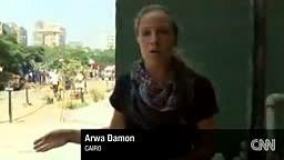 CNN reporter ducks gunfire on air