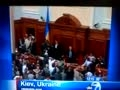 Members Hospitalized over Shocking Fight in Ukraine's Parlia