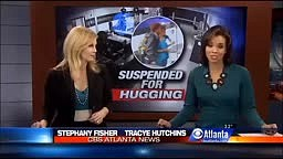 Student Suspended From School For Hugging A Teacher