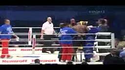Funny Knockouts Johnathon Banks vs Travis Walker Ko round 6