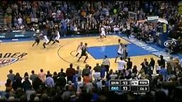 Joe Johnson BUZZER Beater OKC Thunder vs Brooklyn Nets