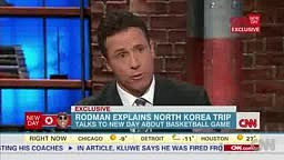 Dennis Rodman Goes Off On CNN When Asking Political Questions On Kenneth Bae In North Korea!