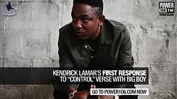 EXCLUSIVE: Kendrick Lamar speaks on Control verse