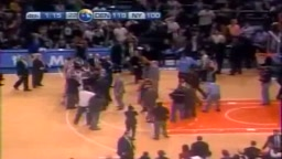 Knicks Nuggets FIGHT Nate Robinson Jr Smith Carmelo Anthony