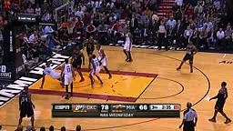 Kevin Durant and LeBron James Combine for 14 Points in 2 Min