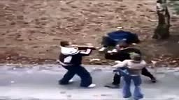 Man BEATS 2 KIDS up for GF over Knockout Game