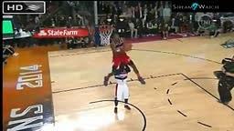 John Wall powerful dunk @ Sprite Slam Dunk Contest 2014 NBA