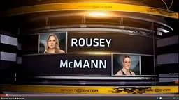 Ronda Rousey vs Mcmann Round 1 TKO