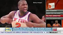 New York Knicks' Ray Felton arrested on gun charges