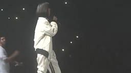 WATCH: Rihanna TWERKS On Drake During 'Take Care' Live Performance in Paris!