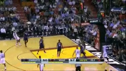 EVERY BASKET-Lebron Scores 61 Points vs Charlotte Bobcats