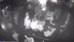 Bucks Larry Sanders Club Fight Brawl; Hits Someone With Bottle