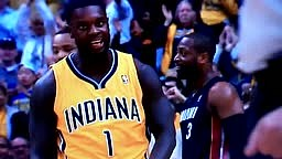 Lance Stephenson Trash Talk makes Dwyane Wade LHFAO