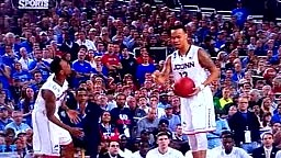 Shabazz Napier PUSHES OWN TEAMMATE Ryan Boatright for making turnover NCAA Finals 2014