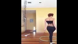 Video Talented: Her Hula Hoop Game Is Crazy!