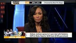 DeAngelo Hall's Reaction to Redskins Signing DeSean Jackson