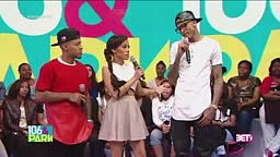 August Alsina checks host on BET's 106 & Park for asking him