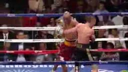 Bernard Hopkins Knocks Down Beibut Shumenov in 11th Round