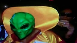 Bernard Hopkins Wears Alien Mask to the ring vs Shumenov