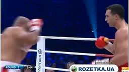 Klitschko vs Pianeta Fight Rd 5 Ko