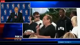 Donald Sterling Banned for life from Basketball fined 2.5 mi