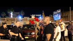 TI and Game ALMOST BRAWL with Cops After Friend Gets BEAT DOWN by Mexicans in LA