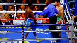 Broner vs Molina Fight AB tries to Dry Hump Another Boxer