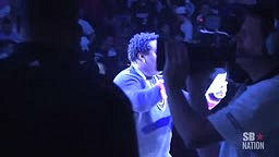 Busta Rhymes Introduces Brooklyn Nets Starting Lineup