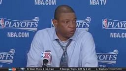 Doc Rivers Take away the replay system , we got robbed