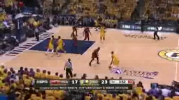Paul George and Lance Stephenson Outpace the Heat in Game 1