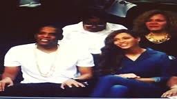 Lebron GRILLS Beyonce & Jay-Z Heat vs Brooklyn Nets Game 6