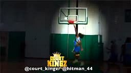 Kwame Alexander is a BEAST at the Rim